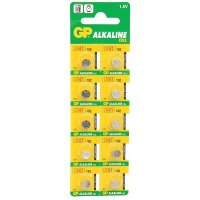 Батарейка LR41(AG3,392 ,G3, 192) GP Alkaline Cell Dia 7.9x3.6mm (1шт.) (для часов)