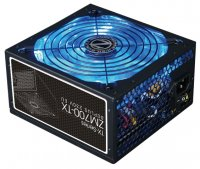 Блок питания 700W ZALMAN (ZM700-TX) 80 Plus ATX 2.31, APFC, 140mm Fan, 2xHDD, 6xSATA, 4x PCI-E, плоские кабели, Black