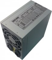 Блок Питания 400W BaseLevel  (OEM) ATX 2.03, 80mm Fan, 2x HDD + 2x SATA , Zinc case