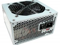 Блок питания 600W BaseLevel (OEM) ATX 2.3, 120mm Fan, 2x HDD + 3x SATA , 2x PCI-Ex, APFC, Zinc case