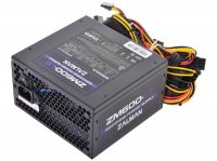 Блок Питания 600W ZALMAN (ZM600-LE2) APFC, ATX 2.3, 120mm FAN, 3x HDD + 6x SATA + 2x PCIE 8pin, black, RTL