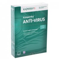 Антивирусная программа Kaspersky Anti-Virus (2ПК - лицензия на 1 год)