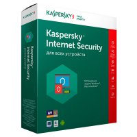 Антивирусная программа Kaspersky Internet Security 2ПК - лицензия на 1 год