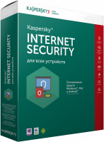 Антивирусная программа Kaspersky Internet Security Multi-Device [5ПК, 1 год]