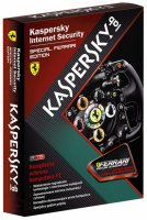 Антивирусная программа Kaspersky Internet Security Special Ferrari Edition 1ПК - лицензия на 1 год