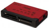 Картридер внешний MIREX USB 2.0 VELVET Bordo All-In-1 (CompactFlash III,Memory Stick/Pro/Duo,SDHC,MMC,XD,M2,MicroSD)