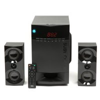 Колонки 2.1 Dialog Progressive AP-230 BLACK - акустические колонки 2.1, 35W+2*15W RMS, Bluetooth, USB+SD reader