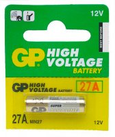 Батарейка 27A GP Super Alkaline 12V (1шт.) BL-5