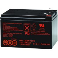 Аккумулятор WBR HR1234W F2 (12V / 9 Ah, lead-acid)