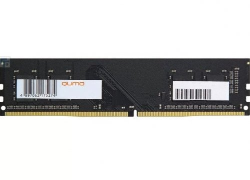 Память DDR4 4096Mb QUMO [2400MHz, PC-19200, QUM4U-4G2400KK16, CL16, 1.2V] 256Mx16