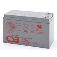 Аккумулятор CSB GPL1272 (12V / 7.2 Ah, lead-acid) F2FR (с увеличенным сроком службы 10лет, герметизированная, технология AGM)
