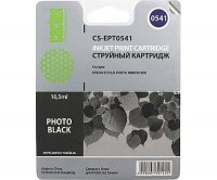 Картридж CACTUS  CS-EPT0541 для Epson Stylus Photo R800/ R1800, черный, 16.5 мл