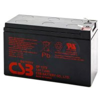 Аккумулятор CSB GP1272 F2 (12V / 7.2 Ah, lead-acid)