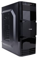 Корпус без блока питания ZALMAN ZM-T3 Mini Tower USB3.0, 92mm rear fan, 120mm front/side fan (optional), 2x HDD, 3x SSD, 300mm video card, black color