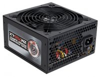 Блок питания 700W ZALMAN (ZM700-LX) 80 Plus ATX 2.3, APFC, 140mm Fan, 5xHDD, 6xSATA, 4x PCI-E, кабели в оплетке, Black